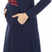 Carina Nightgown For Women - Navy-image-1