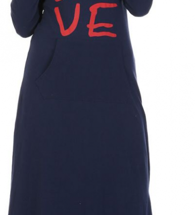 Carina Nightgown For Women - Navy-image-2