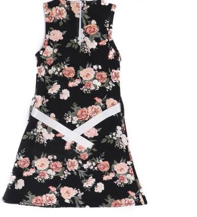 Evo Kids Wear Casual A Line Dress For Girls-image-2