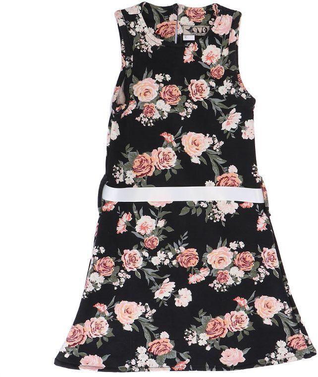 Evo Kids Wear Casual A Line Dress For Girls-image