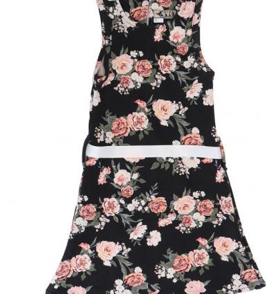 Evo Kids Wear Casual A Line Dress For Girls-image-1